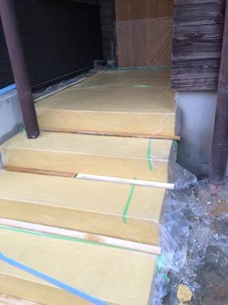 61 藏家新事務所外部階段製作