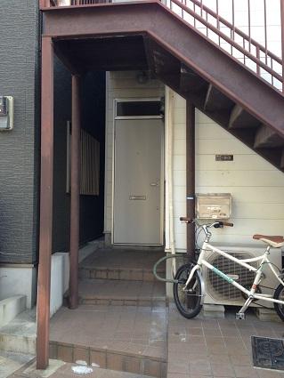 101 藏家新事務所既存玄関ドア