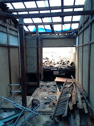 11 ビフォーアフター里井邸 2階解体