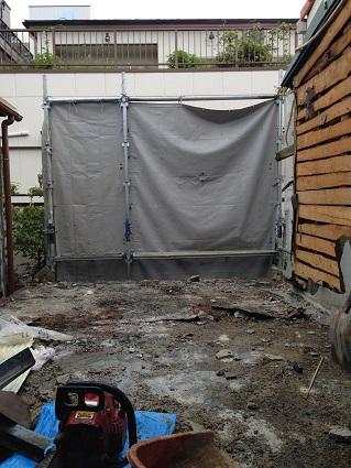 18 ビフォーアフター里井邸 2階ベランダ解体