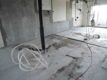 7 Y様邸マンションリノベーション工事 排水撤去