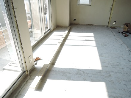 9 Y様邸マンションリノベーション工事 乾式二重床