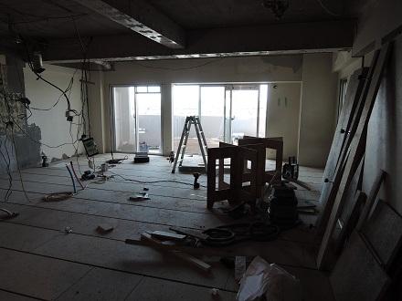 13 Y様邸マンションリノベーション工事 乾式二重床完成