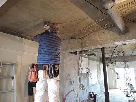 16 Y様邸マンションリノベーション工事 電気工事