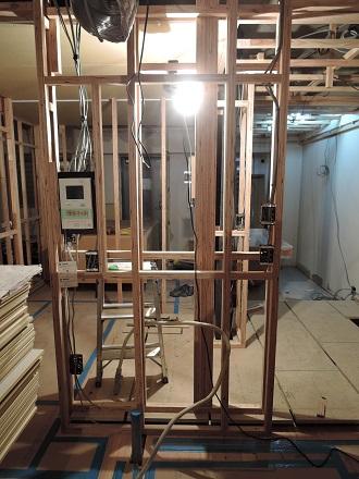 44 Y様邸マンションリノベーション工事 壁間仕切り