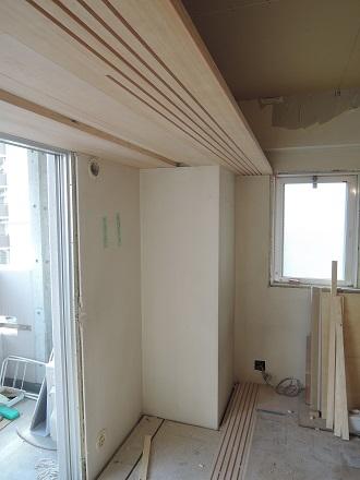 102 Y様邸マンションリノベーション工事 5連建具