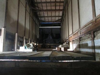34  ビフォーアフター里井邸 柱・梁組み