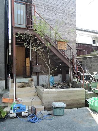 23 藏家事務所 植木植え込み