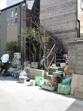 31 藏家事務所 植木植え込み