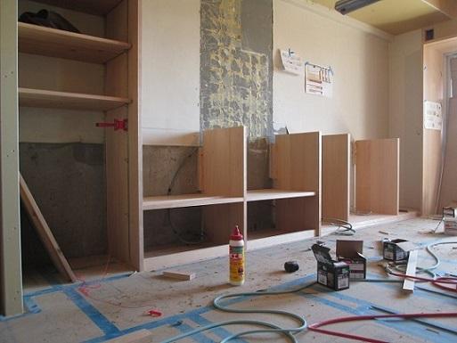 14  Y様邸マンションリノベーション工事 カップボード製作