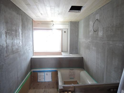 21  Y様邸マンションリノベーション工事 デラクリート 全面シゴキ