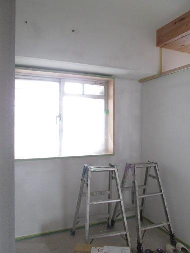 44  Y様邸マンションリノベーション工事 左官工事 エコクイーン