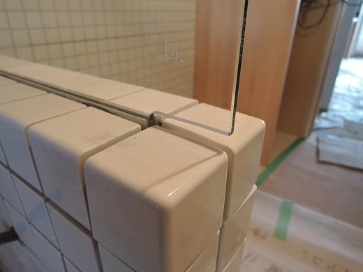 49  Y様邸マンションリノベーション工事 お風呂強化ガラス設置