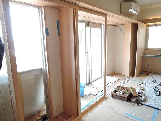 77 Y様邸マンションリノベーション工事 ガ建具工事
