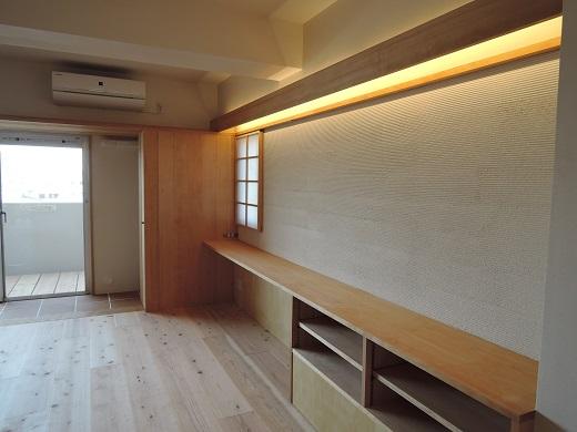 82 Y様邸マンションリノベーション工事 枠など塗装
