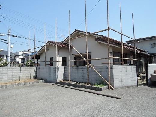 15 西宮H様邸既存建物解体