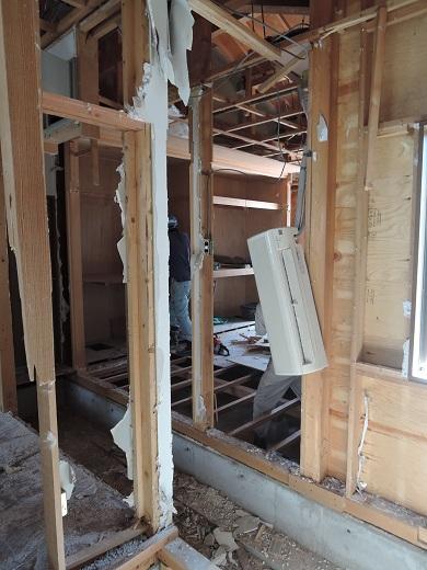 16 西宮H様邸既存建物解体