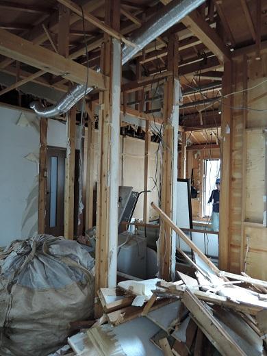 21 西宮H様邸既存建物解体