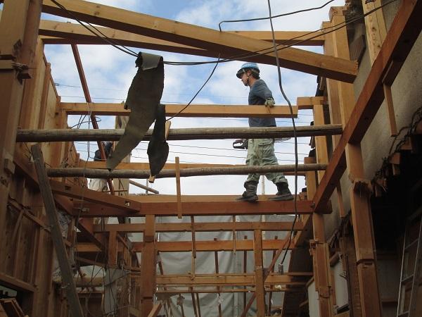 22 西宮H様邸既存建物解体
