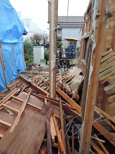 23 西宮H様邸既存建物解体