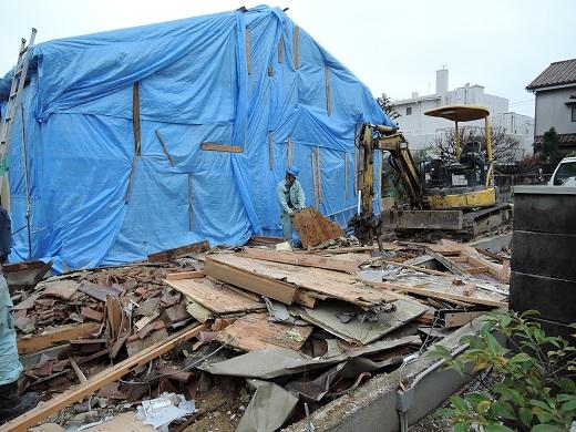24 西宮H様邸既存建物解体