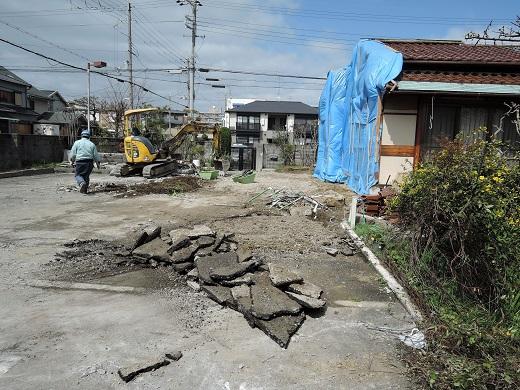 26 西宮H様邸既存建物解体