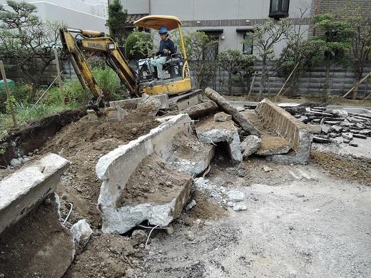 28 西宮H様邸既存建物解体