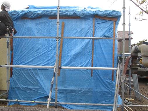 37 西宮H様邸既存建物解体