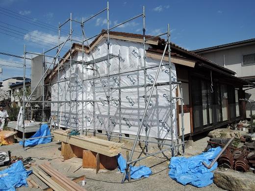 38 西宮H様邸既存建物解体
