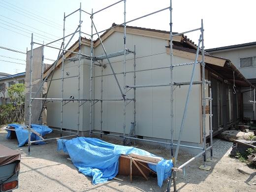 40 西宮H様邸既存建物解体