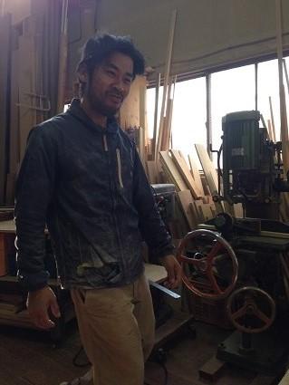 23 里井邸匠と居藏でoguma工房で家具打ち合わせ