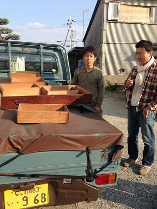 25 里井邸匠と居藏でoguma工房で家具打ち合わせ