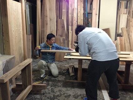49 里井邸藏家の倉庫で撮影