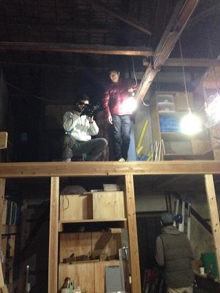 51 里井邸藏家の倉庫で撮影