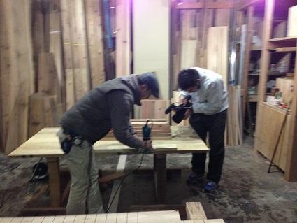 52 里井邸藏家の倉庫で撮影