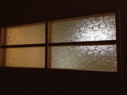 141 里井邸建具工事ガラス設置