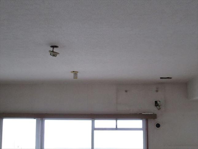 7 ハーバーランド 木のマンションリノベーション着工前仮設電気_R