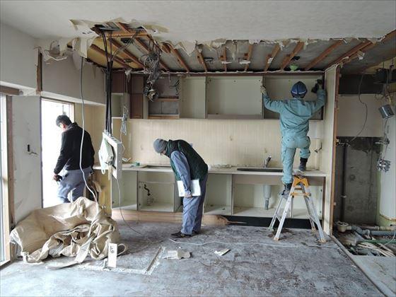 12 ハーバーランド 木のマンションリノベーション解体_R