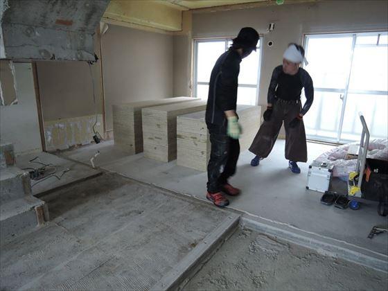 22 ハーバーランド 木のマンションリノベーション大工工事_R