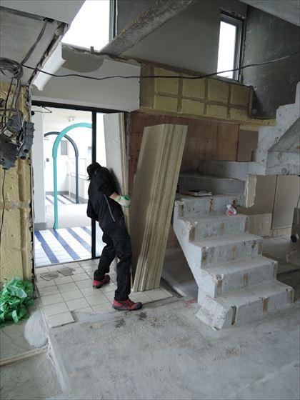 23 ハーバーランド 木のマンションリノベーション大工工事_R