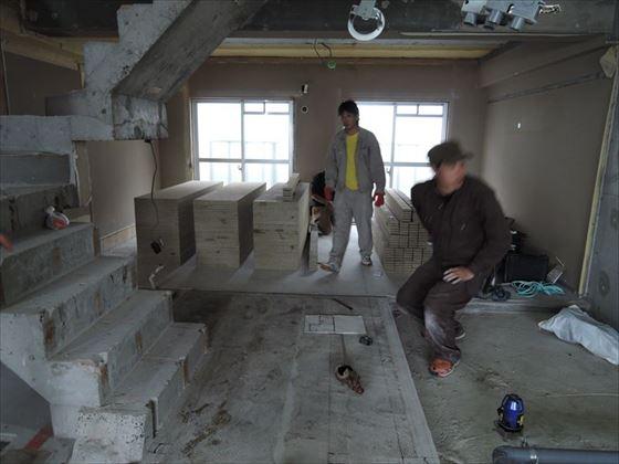 24 ハーバーランド 木のマンションリノベーション大工工事_R