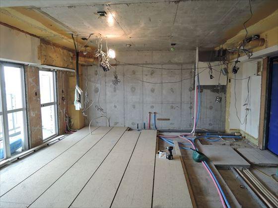 25 ハーバーランド 木のマンションリノベーション大工工事_R