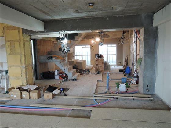 26 ハーバーランド 木のマンションリノベーション大工工事_R