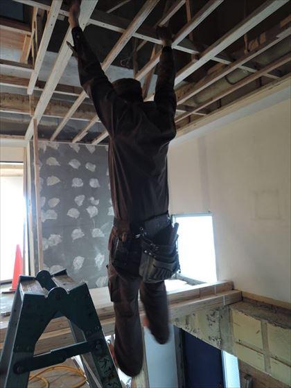 37 ハーバーランド 木のマンションリノベーション大工工事_R