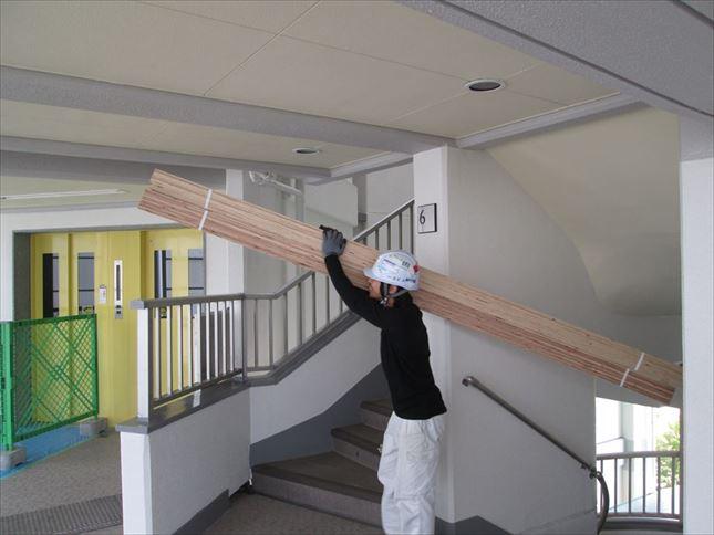 42 ハーバーランド 木のマンションリノベーション大工工事_R