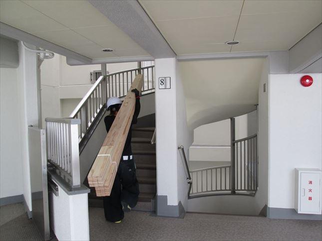 43 ハーバーランド 木のマンションリノベーション大工工事_R