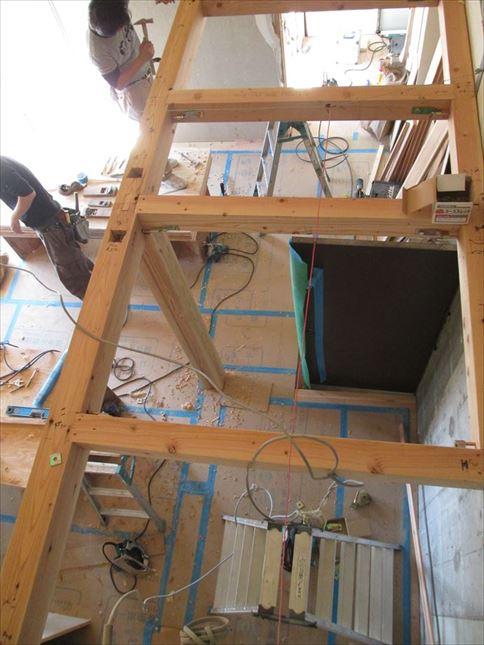 45 ハーバーランド 木のマンションリノベーション大工工事_R