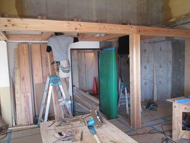 46 ハーバーランド 木のマンションリノベーション大工工事_R