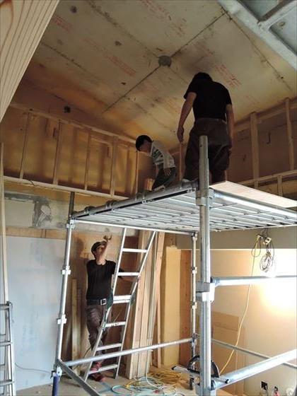 47 ハーバーランド 木のマンションリノベーション大工工事_R