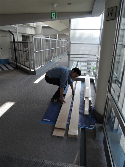 50 ハーバーランド 木のマンションリノベーション大工工事_R